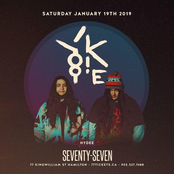 Yookie - Saturday January 19th, 2019
