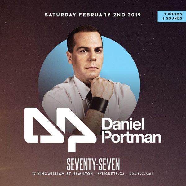 Daniel Portman - Saturday February 2nd, 2019 at Club 77