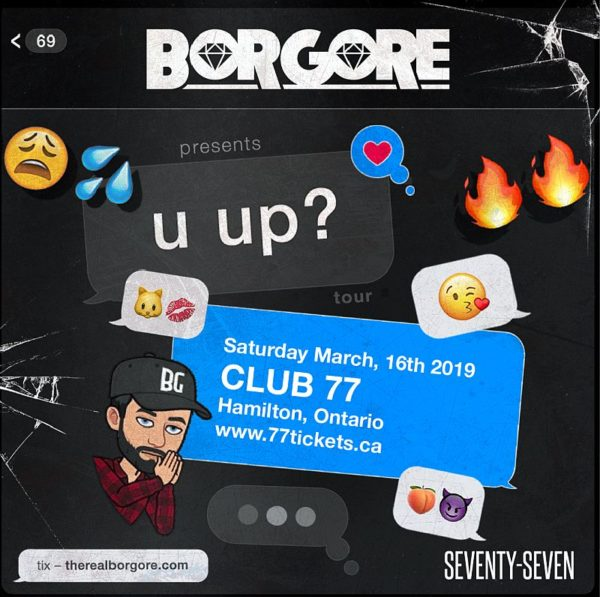 Borgore (St Patrick's Day Weekend) Saturday March 16th, 2019 at Club 77