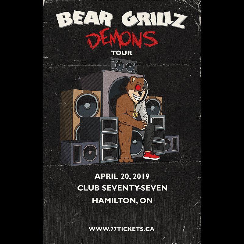 Bear Grillz - Saturday April 20th, 2019 at Club 77