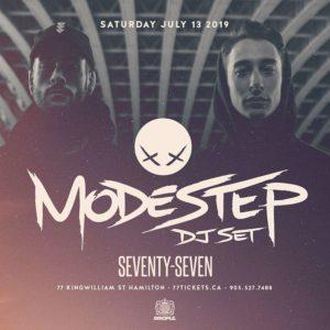 Modestep - Saturday July 13th at Club 77