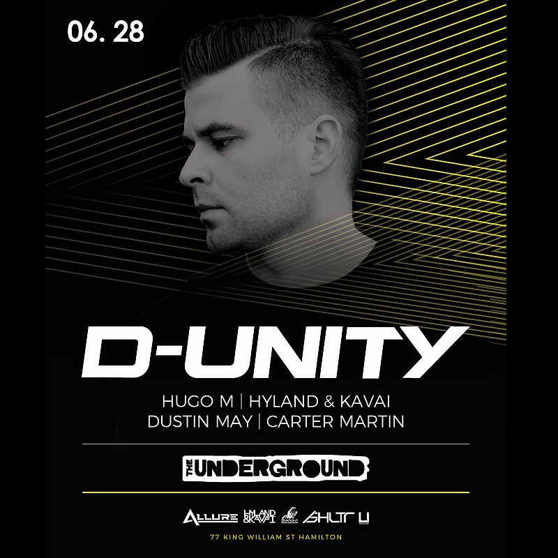 D-Unity at The Underground - Friday June 28th, 2019