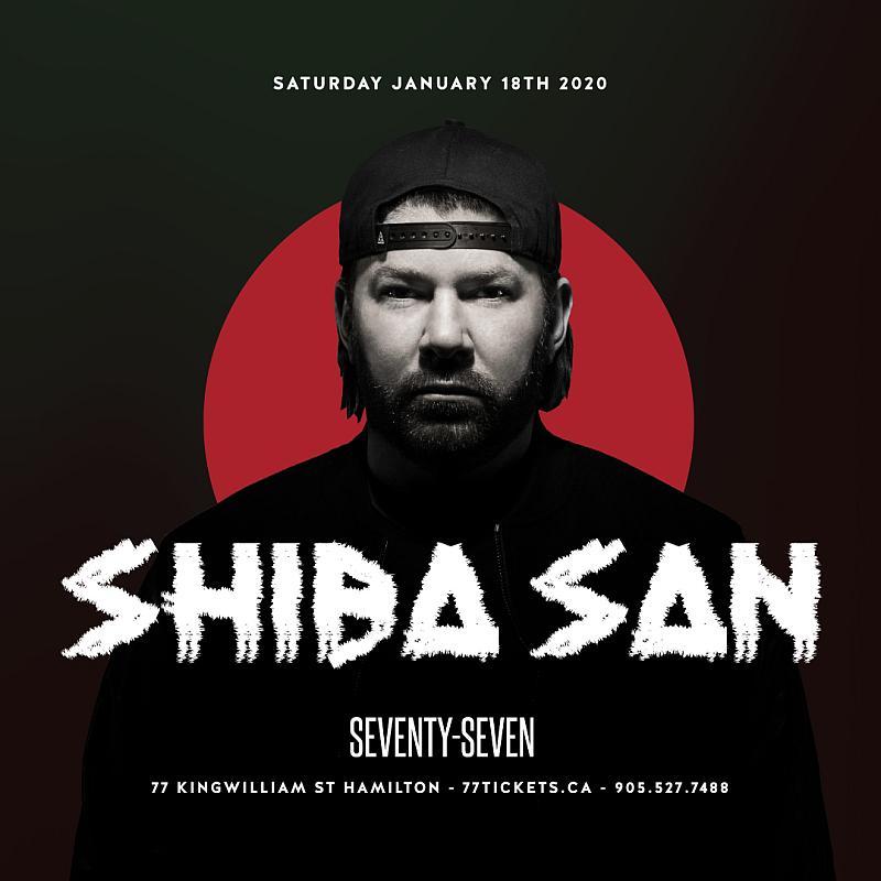 Shiba San - Saturday January 18th, 2020 at Club 77 in Hamilton, Ontario