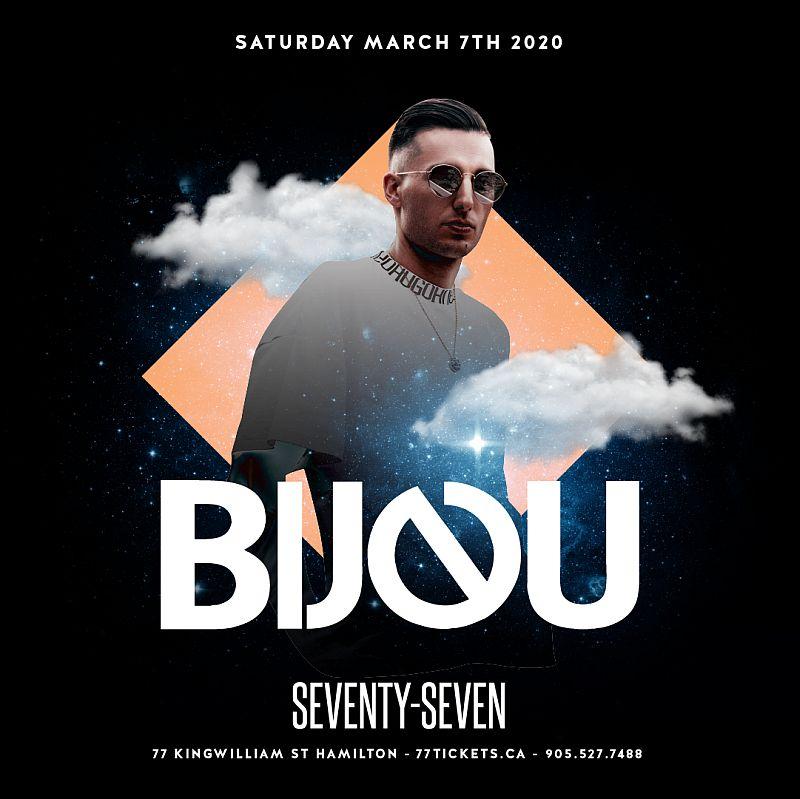 Bijou - Saturday March 7th, 2020 at Club 77 in Hamilton, Ontario