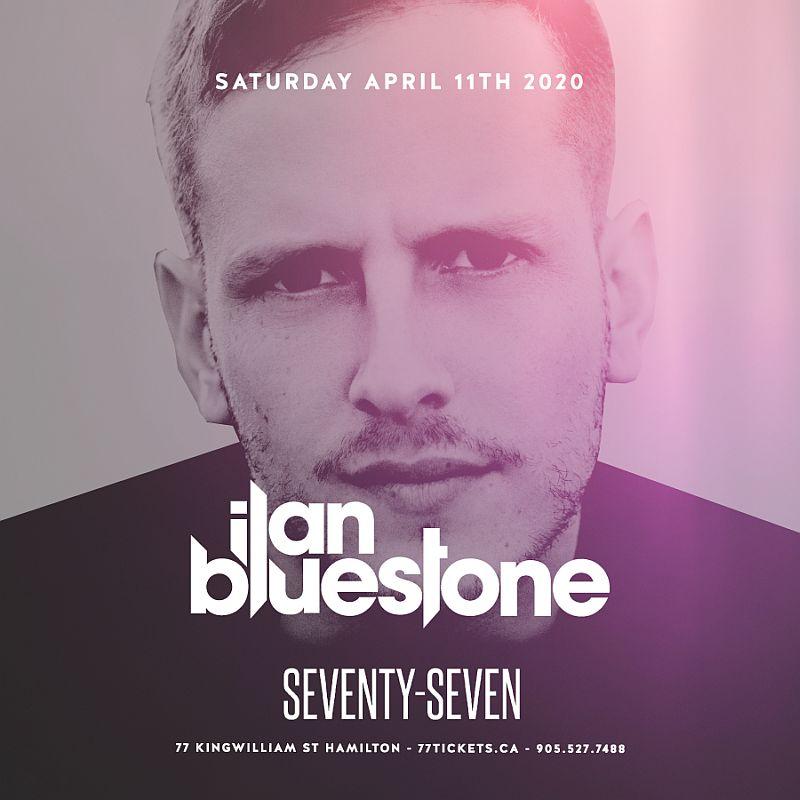 Ilan Bluestone inside Main Room- Saturday April 11th, 2020 at Club 77 in Hamilton, Ontario